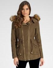 Lipsy €102.26 - Faux Fur Collar Parka http://bit.ly/1wZOXJm