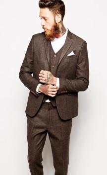 ASOS from €45.50 - Slim Fit Suit in Herringbone http://bit.ly/1LiWV8P