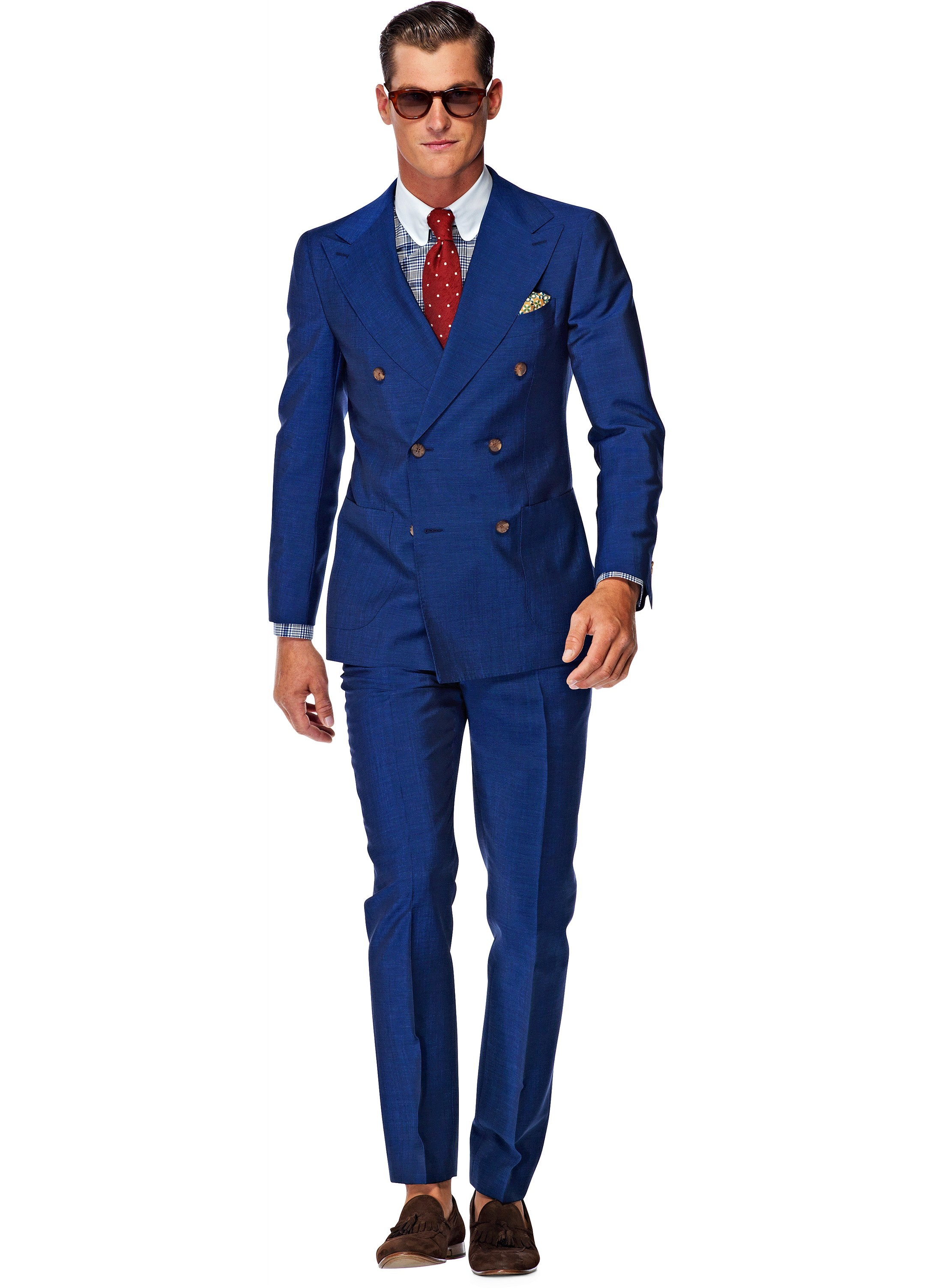Suit Supply €359 – Madison Blue Suit | Killer Fashion