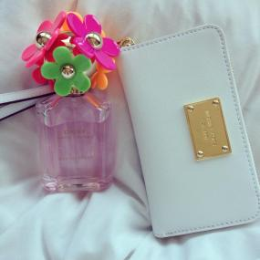 My new Marc Jacobs 'Eau So Fresh' and Michael Kors wallet