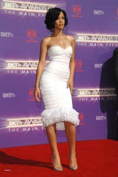 2007 BET Awards - wearing Herve Leger