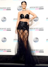 2013 AMAs - wearing Jean Paul Gaultier Couture