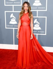 2013 Grammys - wearing Azzedine Alaia