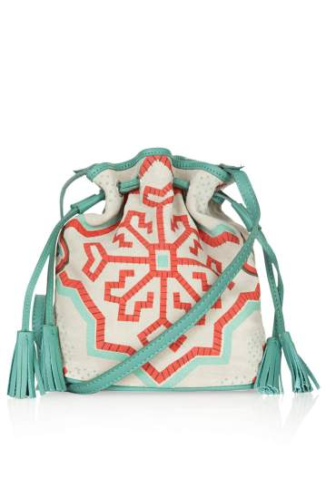 Topshop €42.50 - Small Folk Suede Duffle Bag http://tinyurl.com/outle6w