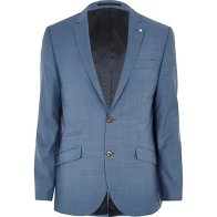 Light Blue Slim Suit Jacket €145 - http://eu.riverisland.com/men/suits/slim-fit/Light-blue-slim-suit-jacket-270376