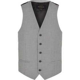Light Grey Single Breasted Waistcoat €32 - http://eu.riverisland.com/men/suits/waistcoats/Light-grey-single-breasted-waistcoat-274894