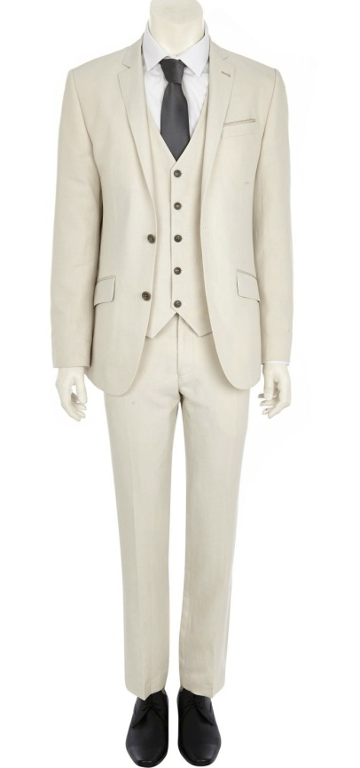 Exclusive White Slim Suit Jacket €135 - http://eu.riverisland.com/men/suits/slim-fit/White-slim-suit-jacket-278324