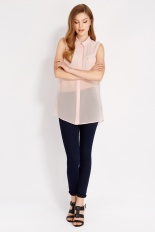 Oasis €47 - Sheer Panel Sleeveless Shirt http://www.oasis-stores.com/sheer-panel-sleeveless-shirt/tops/oasis/fcp-product/4410039445
