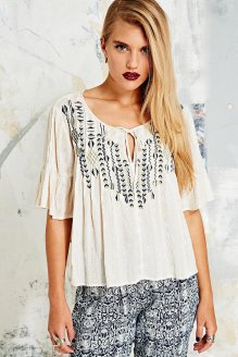 Ecote €55 - Pintuck Willow Blouse http://tinyurl.com/paap9cy