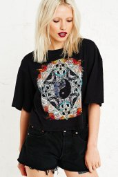 Truly Madly €39 - Deeply Psychic Symbol Crop Top http://www.urbanoutfitters.com/uk/catalog/productdetail.jsp?id=5111424660789&category=WOMENS-TOPS-EU