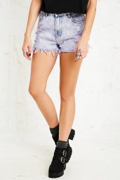 Levi's €55 - Vintage Renewal Overdyed Distressed Denim Shorts http://tinyurl.com/puc5uh5