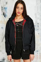 Vintage Renewal €75 - Harrington Jacket in Black http://www.urbanoutfitters.com/uk/catalog/productdetail.jsp?id=5415402150091&parentid=WOMENS-COATS-JACKETS-EU