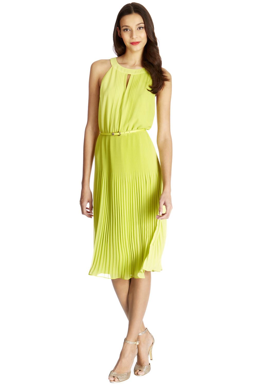 82bf21d919e9 Oasis €81 – Chiffon Pleated Midi Dress   Killer Fashion