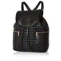 River Island €40 - Black Quilted Rucksack http://eu.riverisland.com/women/bags--purses/backpacks/Black-quilted-rucksack-647869