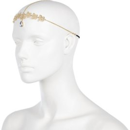 River Island €6 - Gold Tone Butterfly Chain Hair Crown http://tinyurl.com/pkso4tq