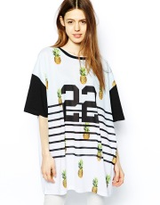 ASOS €21 - Tunic With Pineapple 22 Print http://tinyurl.com/mu58vgz