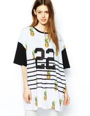 ASOS €21 - Tunic With Pineapple 22 Print http://tinyurl.com/mu58vgz