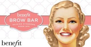 Benefit Boutique's Brow Bar