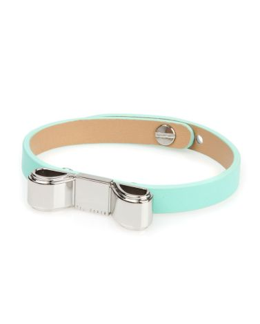 Ted Baker €35 - Beccee Bow bracelet http://www.tedbaker.com/ie/Womens/Accessories/Gift-Accessories/BECCEE-Bow-bracelet-Green/p/110005-34-GREEN