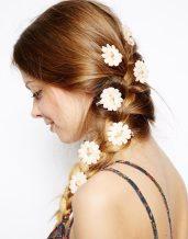 ASOS €11.24 - Pack of 8 Carnation Flower Hair Clips http://tinyurl.com/pafx4dp