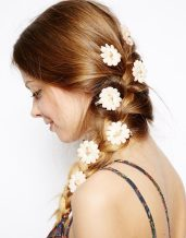 ASOS €11.24 - Pack of 8 Carnation Flower Hair Clips http://tinyurl.com/pafx4dp