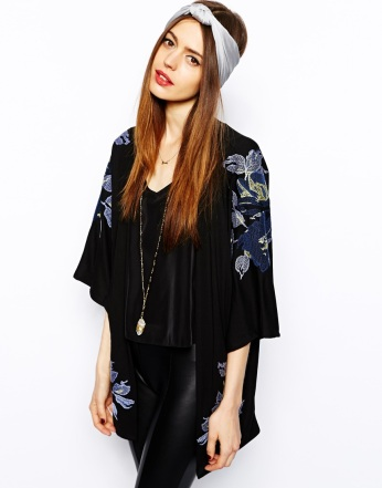 ASOS €70 - Kimono with Premium Embroidery http://tinyurl.com/nm4fmjj