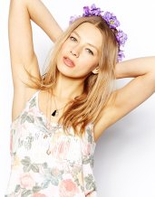 Rock' N Rose €44.95 - Purple Lydia Hair Crown http://tinyurl.com/ocqynjj