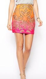Needle & Thread €126.40 - Engrave Mini Skirt http://tinyurl.com/q9dc3m7