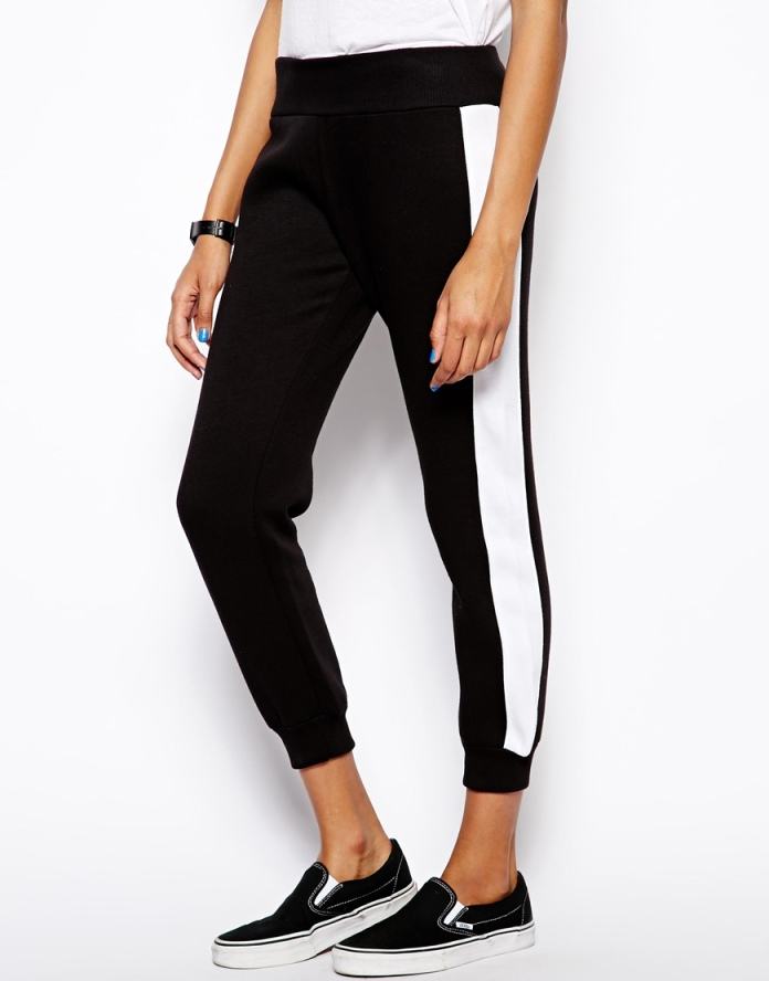Daisy Street €21 - Jogger with Side Stripe http://tinyurl.com/mee8cfd