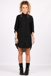 Yayer €24 - Black Out Shirt http://yayer.com/collections/new-tops/products/black-out-shirt