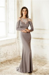 Sweetheart Collar Embellished Dress €2,016 http://phoenixanna.com/index.php?route=product/product&path=60&product_id=59