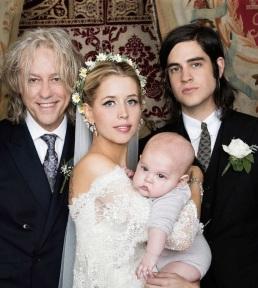 Sir Bob Geldof, Peaches & Astala Geldof-Cohen, Thomas Cohen