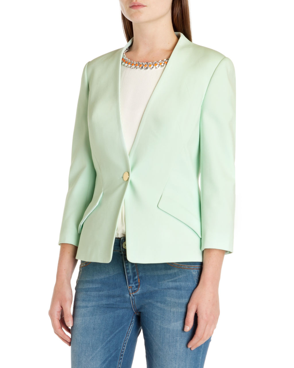 Ted Baker €210 – Ellsie Curved hem jacket | Killer Fashion