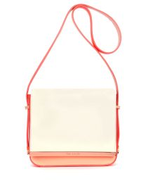Ted Baker €200 - Colour block metal leather bag http://www.tedbaker.com/ie/Womens/Accessories/Bags/MEEMIES-Colour-block-metal-leather-bag-Bright-Pink/p/108306-56-BRIGHT-PINK
