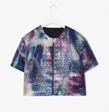 Printed Jacquard Top €79 - http://www.cosstores.com/ie/Shop/Women/Blazers/Printed_jacquard_top/10640078-12318302.1#c-85344
