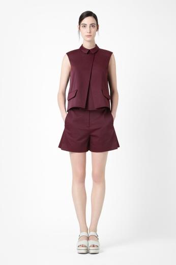 Sleeveless Shirt €69 - http://www.cosstores.com/ie/Shop/Women/Tops/Sleeveless_shirt/46885-12362018.1#c-24479