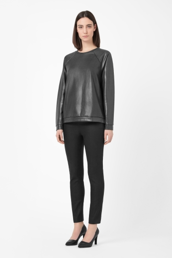 Coated Sweatshirt €55 - http://www.cosstores.com/ie/Shop/Women/Tops/Coated_sweatshirt/46885-13829146.1#c-24479