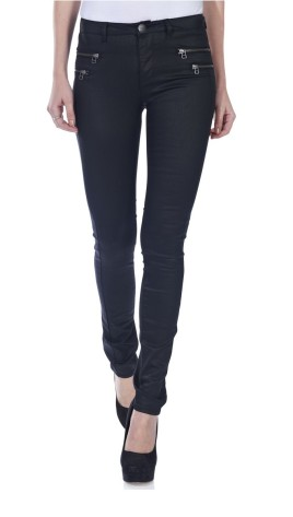 ONLY €27.95 - Olivia Regular Wax Coated Jeans http://bit.ly/1Gvyhzv