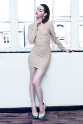 Notation Suspender Bodycon Dress £60/€74 - http://www.dancingdollsuk.com/product/notation/