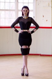 Vice Suspender Midi Dress £40/€50 - http://www.dancingdollsuk.com/product/vice/