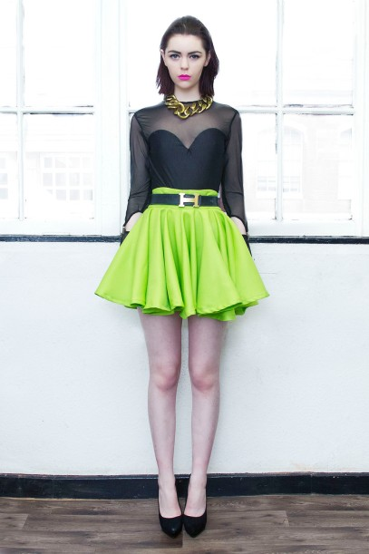 Acid Major Skater Skirt £40/€50 http://www.dancingdollsuk.com/product/acid/