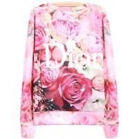 "Floral Printed ""Dior"" Jumper €60.95 - http://thehubmarketplace.com/Floral-Printed-D-I-O-R-Jumper"