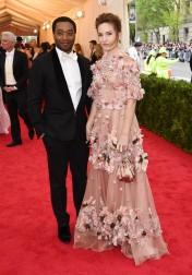 Chiwetel Ejiofor & Sari Mercer in Dolce & Gabbana