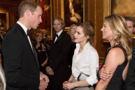 H.R.H. Prince William, Emma Watson & Kate Moss