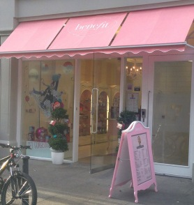 Benefit Boutique - image courtesy of Pippa.ie