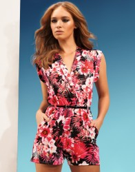 Lipsy €55 - http://www.lipsy.co.uk/store/jumpsuits-and-playsuits/lipsy-tropical-print-playsuit/product-is-JD03004_130