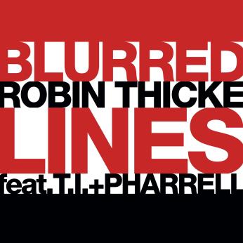 """Robin Thicke, T.I. & Pharrell """"Blurred Lines"""""""