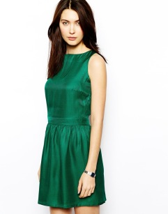 Sessun €211.26 - Silk Dress with Open Back and Bow Detail http://tinyurl.com/qgj7vhu