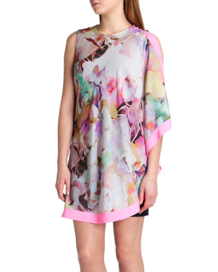 Ted Baker €175 - http://www.tedbaker.com/ie/Womens/Clothing/Dresses/ELSEE-Electric-day-dream-tunic-Lemon/p/112300-73-LEMON