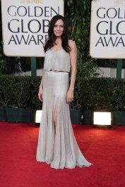 2009 Golden Globes - wearing Atelier Versace